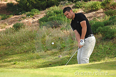 Golf - Jean-Baptiste GONNET, FRA Redaktionelles Foto