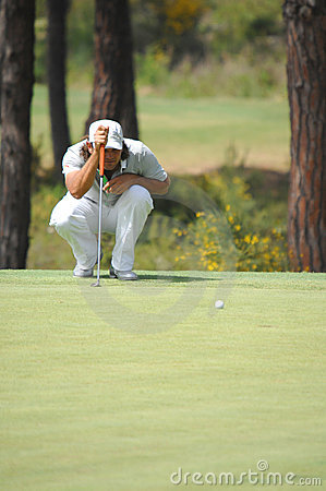 Golf - Johan EDFORS, SWE Editorial Stock Photo