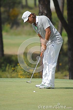 Free Golf - Johan EDFORS, SWE Royalty Free Stock Images - 4911979