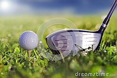 Golf kicker play