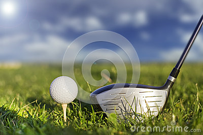 Golf kicker play