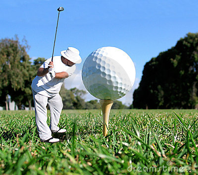 Golf-Konzept