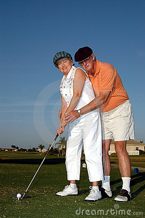 Free Golf Lesson Stock Photography - 1677882