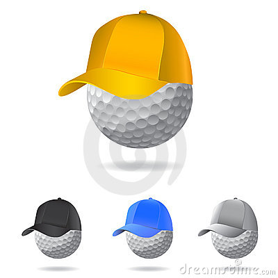 Golf mascot