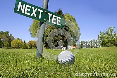 Golf next tee