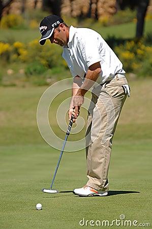 Golf - Nuno CAMPINO, POR Redaktionelles Stockfotografie