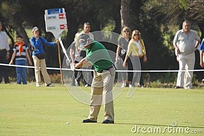 Golf - Nuno CAMPINO, POR Redactionele Afbeelding