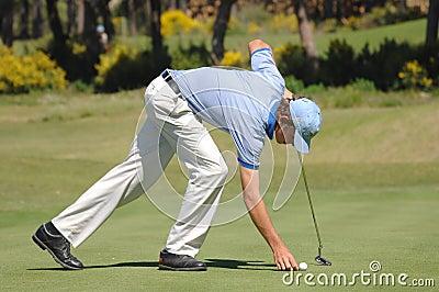 Golf - Pedro Figueiredo POR Editorial Stock Photo
