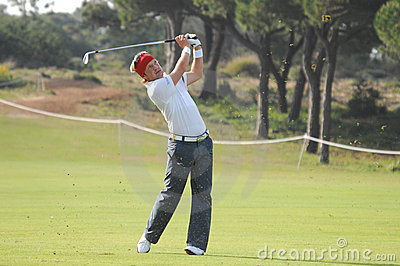 Golf - Pelle EDBERG, SWE Image stock éditorial