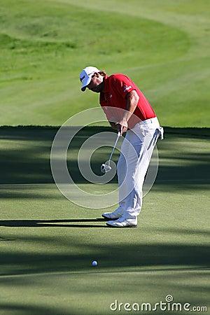 Golf PGA, CELADNA, CZECH REPUBLIC Editorial Stock Photo
