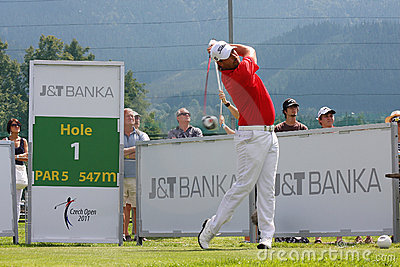 Golf PGA, CELADNA, CZECH REPUBLIC Editorial Stock Photo