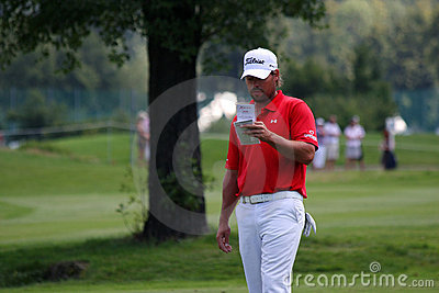 Golf PGA, CELADNA, CZECH REPUBLIC Editorial Stock Image