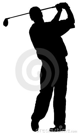 Free Golf Player Royalty Free Stock Photo - 3279345