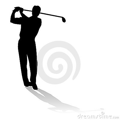 Free Golf Player Royalty Free Stock Image - 5356976