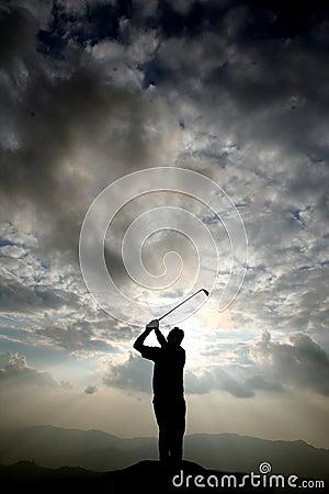 Free Golf Player Stock Image - 7284611