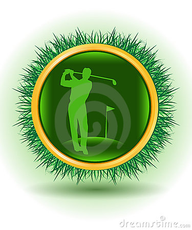 Free Golf Player Royalty Free Stock Photos - 9346538