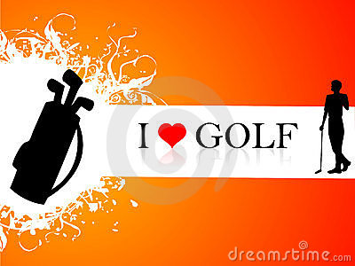 Golf player and kit