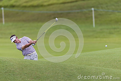 Golf Pro Castano Swing Editorial Stock Image