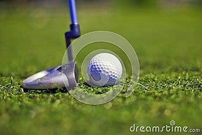 Golf putter play