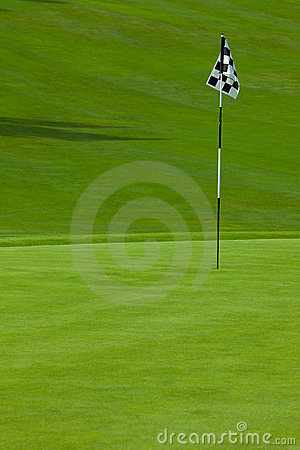 Free Golf Putting Green Stock Image - 13899981