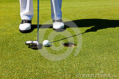 Golf: putting green