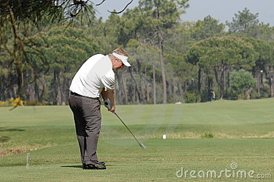 Golf - Ross McGOWAN, ENG Editorial Stock Image