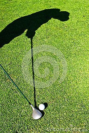 Golf shadow