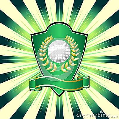 Free Golf Shield Stock Photo - 5916560