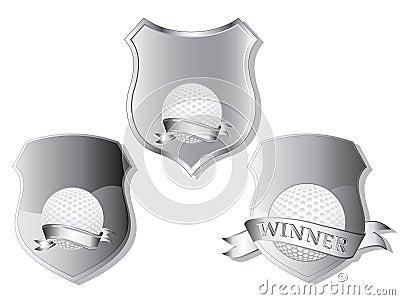 Golf shields