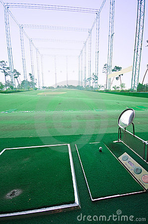 Golf shooting practice