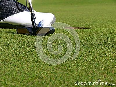 Golf - A short Putt