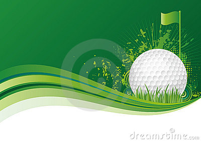 golf sport background