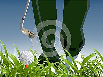 Golf Sport concept
