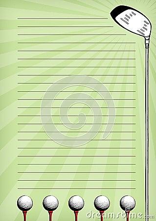Golf Stationary