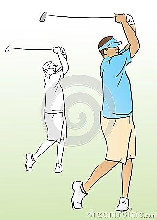 Free Golf Swing Stock Image - 15570491