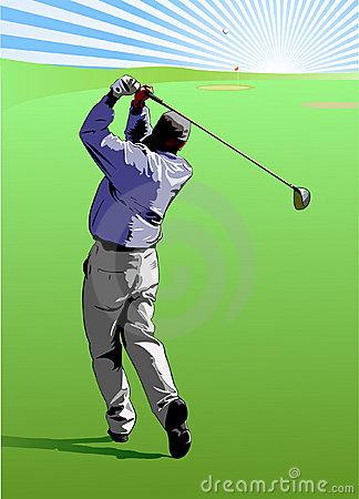 Free Golf Swing Royalty Free Stock Image - 1769046