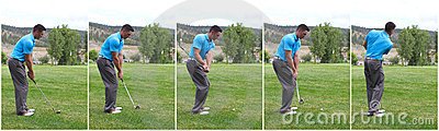 Golf swing combo
