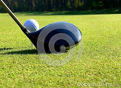 Golf - Tee Off