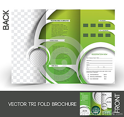 Free Golf Tournament Brochure Royalty Free Stock Photography - 41889007