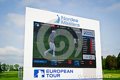 Nordea Masters Editorial Stock Photo