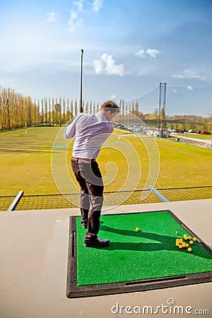 Golf training