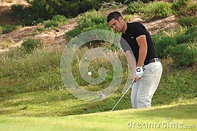 Golfe - Jean-Baptiste GONNET, FRA Foto Editorial
