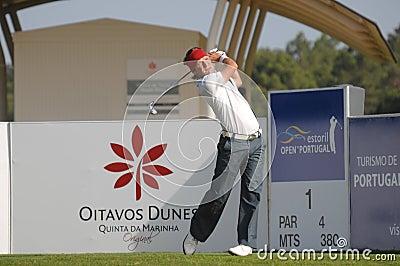 Golfe - Pelle EDBERG, SWE Imagem de Stock Editorial