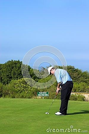Free Golfer Royalty Free Stock Photo - 1021145