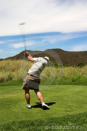 Free Golfer. Stock Images - 1649424
