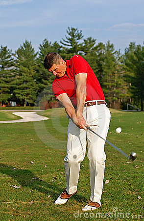Free Golfer Stock Photo - 4951990