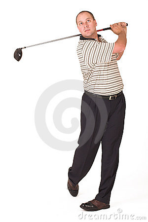 Free Golfer 6 Stock Photo - 956330