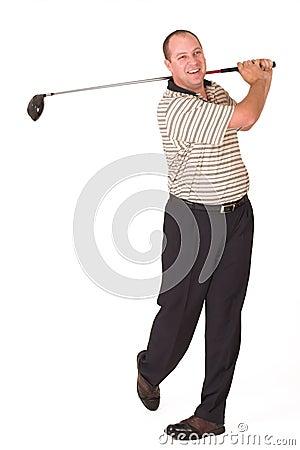 Free Golfer 7 Stock Image - 956341