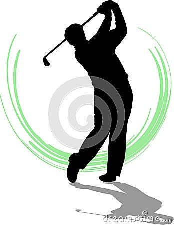 Golfer Man/eps