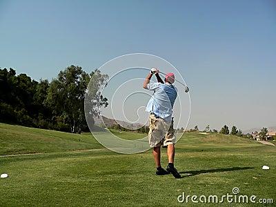 Golfer s Tee Shot